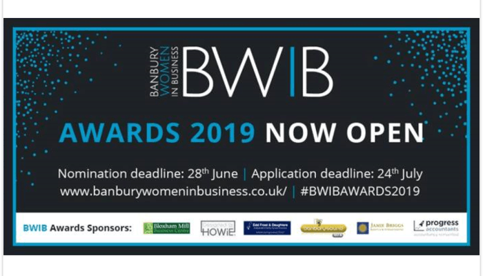 Progress Accountants is a Sponsor of the Banbury Women in Business (BWIB) Awards 2019
