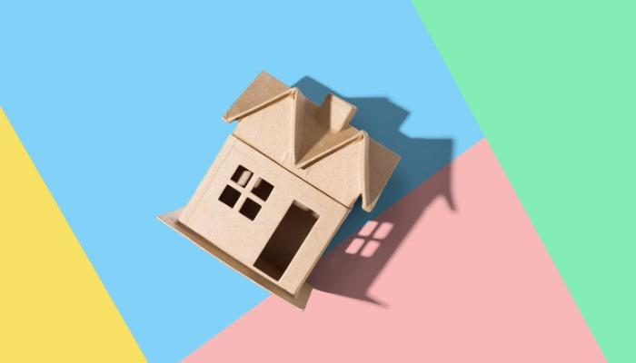 cardboard-house-with-drop-shadow-picture-id1221281146