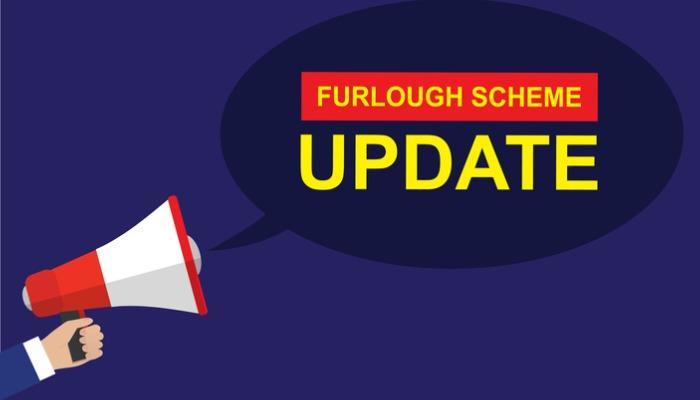 furlough-scheme-update-megaphone-coronavirus-vector-vector-id1252035679